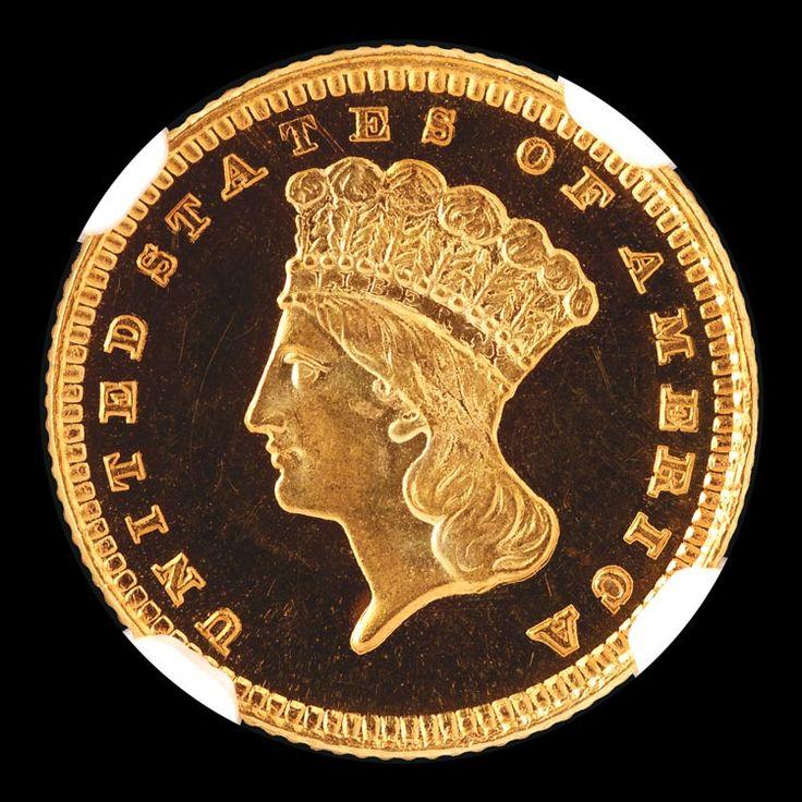 Gold Dollars - 1885 G One Dollar PF