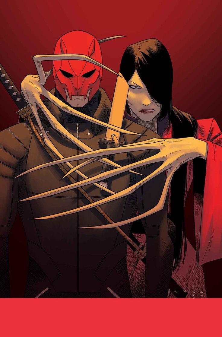 Shogun and Lady Deathstrike by Kris Anka