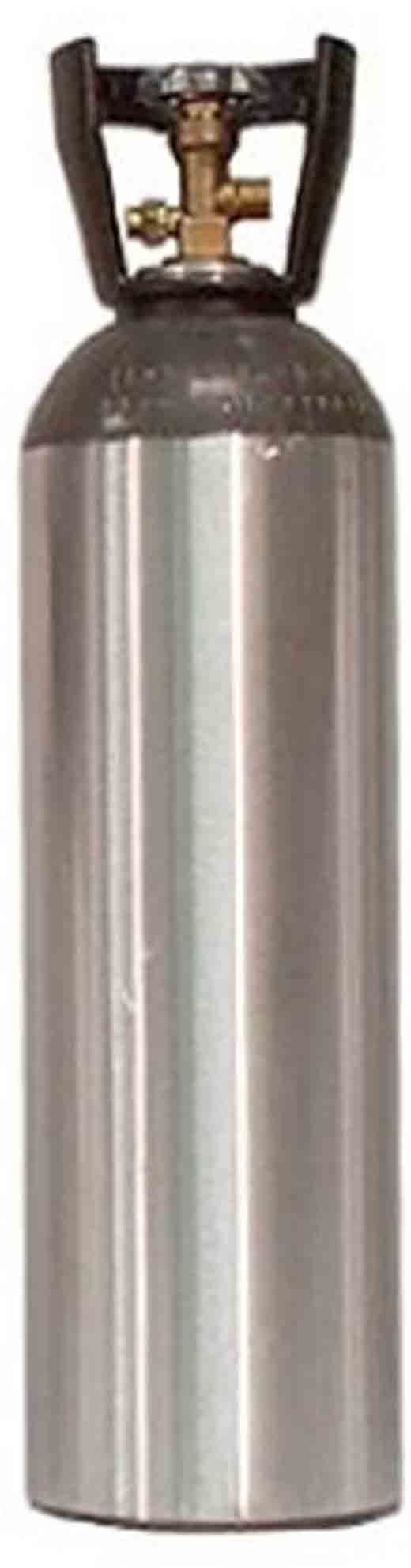 CO2 Aluminum 15 Pound Cylinder Tank New Empty - Sherwood CGA 320 Valve, Carry Handle (Beverage, Welding, Beer Systems)