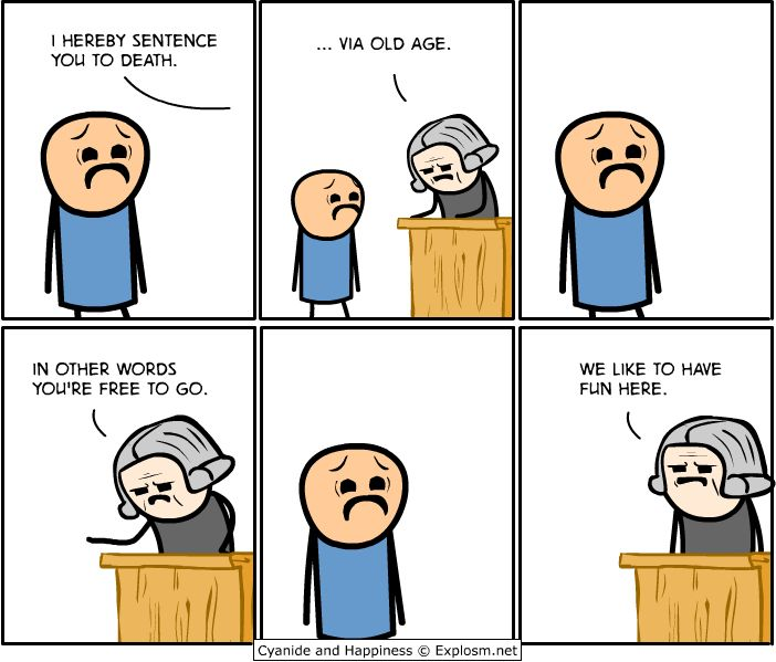 Cyanide & Happiness - in court - Imgur