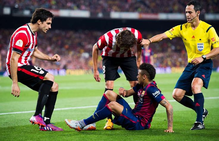 Neymar sparks scrap with outrageous showboat in Copa Del Rey final | GiveMeSport