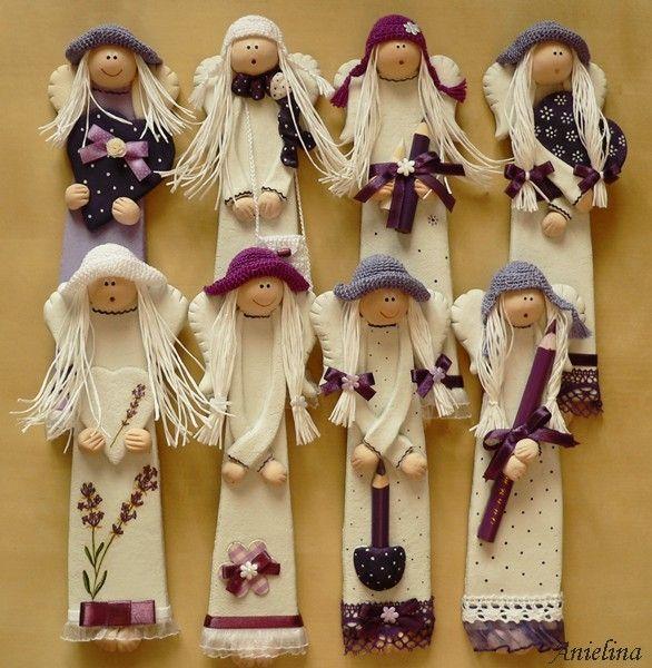 Куколки-магниты и веночки от Anielina. Обсуждение на LiveInternet - Российский Сервис Онлайн-Дневников