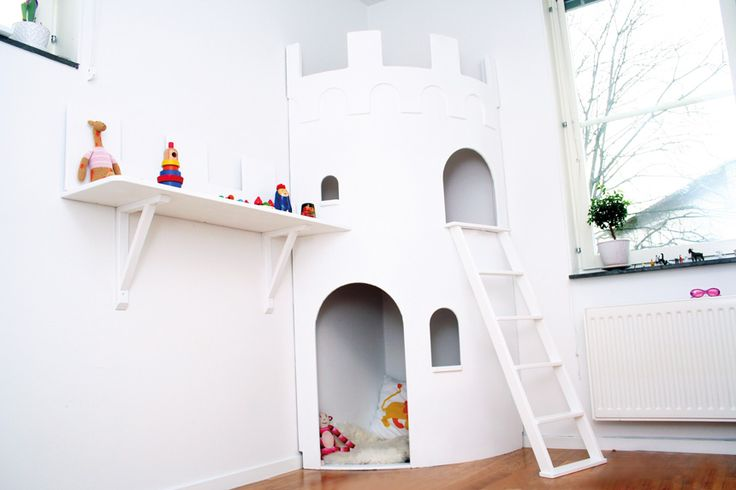A Rapunzel's Tower of their very own??? yes please http://www.smallroom.se/en/produkter/