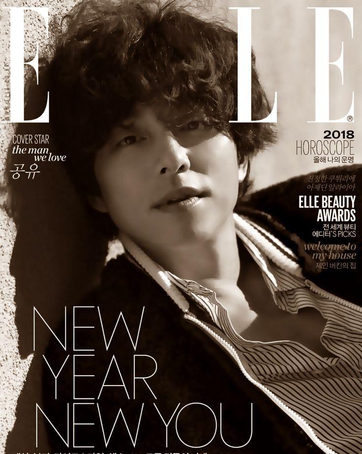 ELLE KOREA Jan 2018
