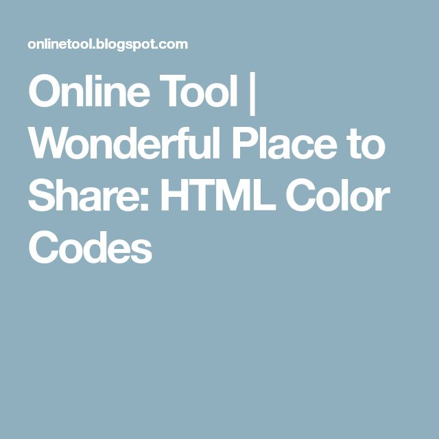The 25+ best Code color html ideas on Pinterest Colores hex - resistor color code chart