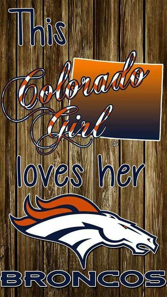 This MN girl LOVES her Broncos!