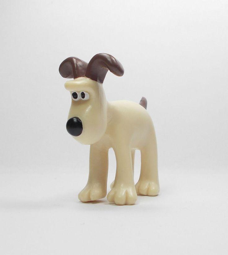 Wallace & Gromit - Gromit - Mini Toy Figure - Aardman 1989 - Cake Topper A