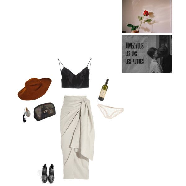 Just upon a smile by francoisehardy-s on Polyvore featuring Alexander Wang, Joseph, Mimi Holliday by Damaris, Windsor Smith, Oscar de la Renta and Chanel