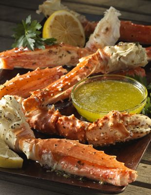 Recipe - Washington Grilled Crab Legs With Lemon Butter