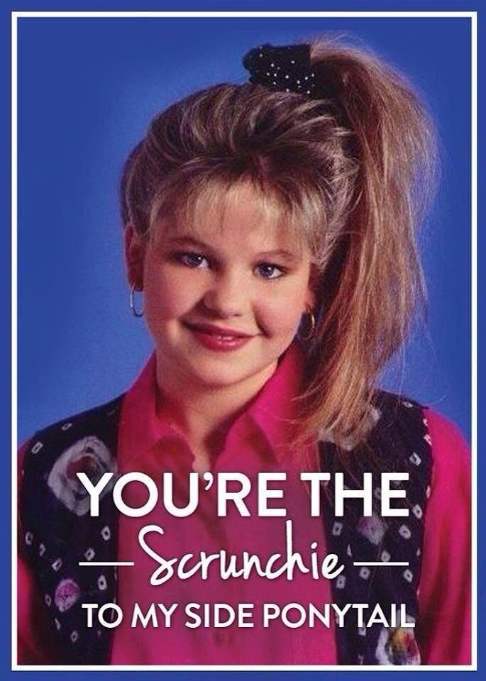 90s Scrunchie Hairstyles: You're My Scrunchie