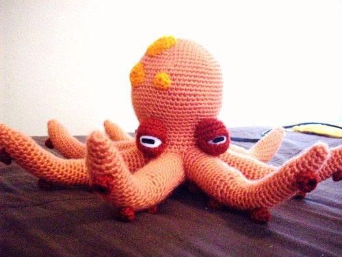 octopus: Free Octopus, Free Pattern, Crochet Toys, Free Amigurumi, Liverspot Lloyd, Crochet Patterns, Octopuses, Amigurumi Patterns