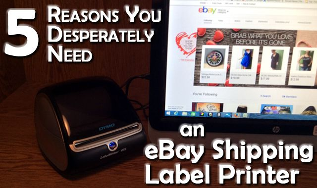 An eBay shipping label printer is a great tool to use in your eBay business for making things more efficient and getting the job done quicker. A must have tool!