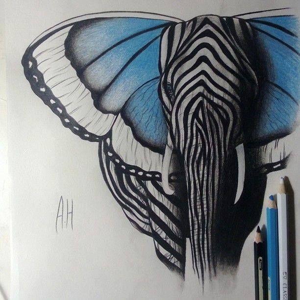 Desenho muito criativo, feito por Ashour Hermez.