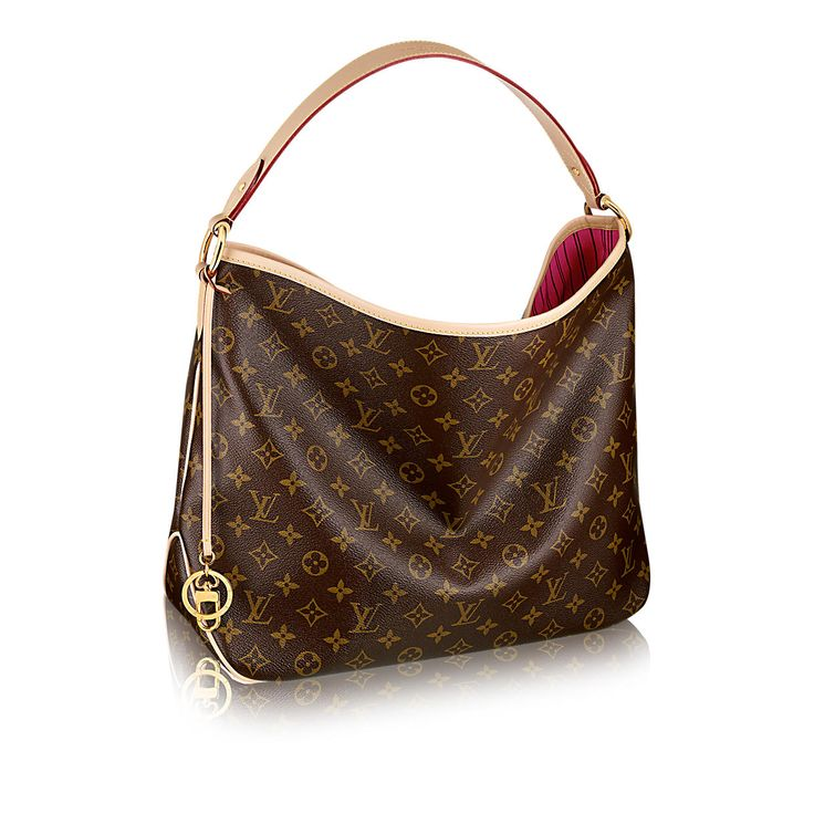 Discover Louis Vuitton Delightful MM  The Delightful Monogram MM embodies everyday elegance. In supple yet resistant Monogram canvas, its lightweight feel, generous interior and luxuriously soft embossed handle make it chic yet practical.