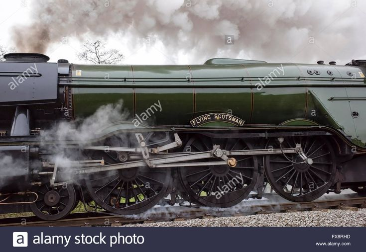 The driving elements of the Gresley 4-6-2 Pacific steam locomotive Stock Photo, Royalty Free Image: 102227033 - Alamy