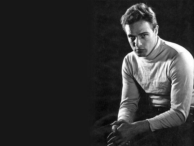 Marlon Brando was the perfect specimen.