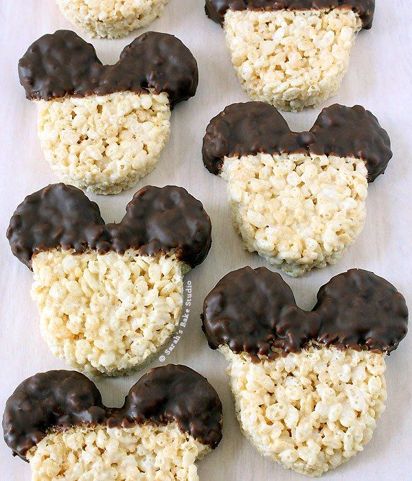 Mickey Mouse Rice Krispies Treats – your much loved Rice Krispies Treats with a Mickey twist.