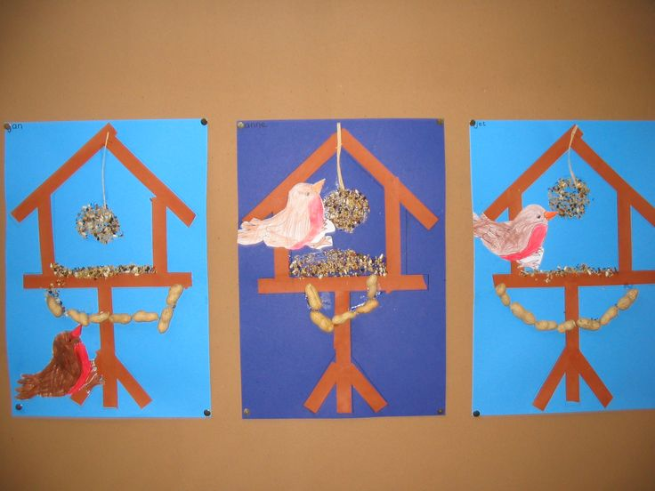Vogelhuisjes: Vll Nuclear, Onderwijs Knutselen, Knutselen Kerst Winter, De Winter, Winter Theme, Onderwijs Winter, Knutselen Winter, Vogelhuisje Knutselen