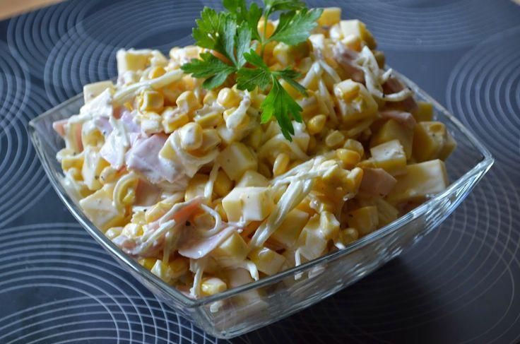 Aga w kuchni: Sałatka z selerem konserwowym