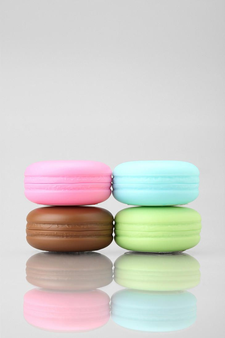 Macaroon Lip Balm! These are so cute! (:  #urbanoutfitters