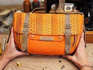 История создания одной сумки... - Ярмарка Мастеров - ручная работа, handmade