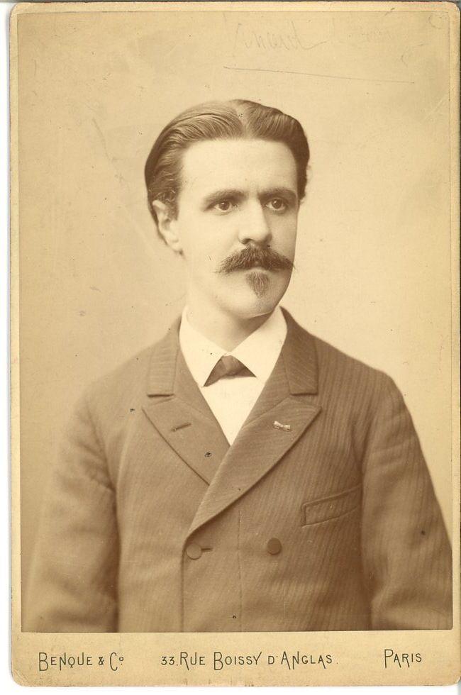 Benque & Co, France, Affaire Dreyfus - Vincent d'Indy     #Personnalités_du_XIXe_siècle #Divers_XIXe