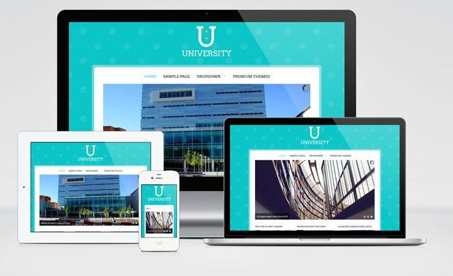 University : Free Responsive Education WordPress theme