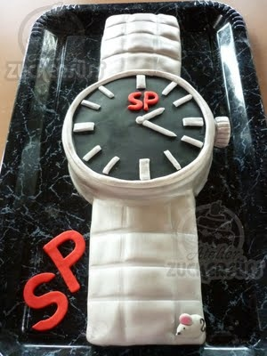 12 Best Images About Watch Cake On Pinterest Birthday