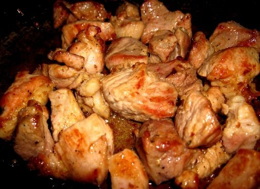 Мясо по-грузински в духовке