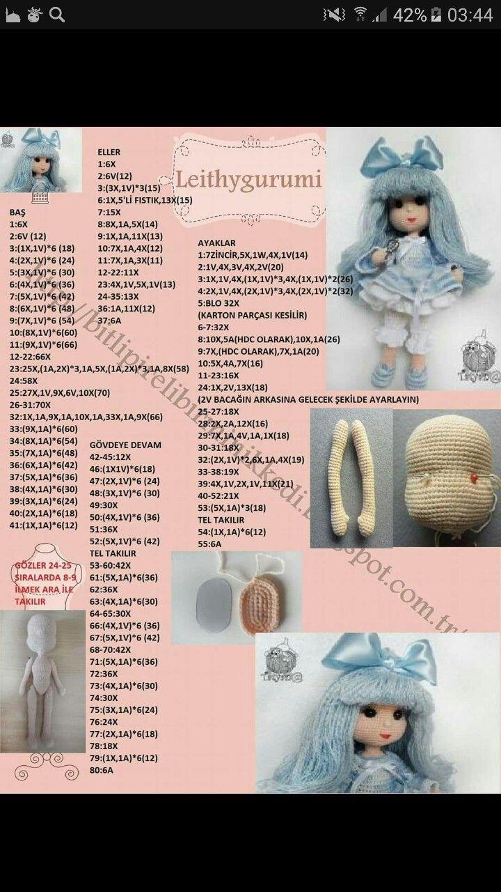 вязаные куклы крючком схемы и описание фото