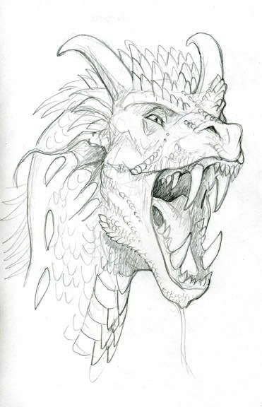 how to draw dragons - summer kid project Note: I love Dragons ! I have drawn them . . . And now have another much more involved project concerning Dragons . . . Which I will post at some point . . . Upon  Project completion  . . .  This is a nice pencil rough . . .