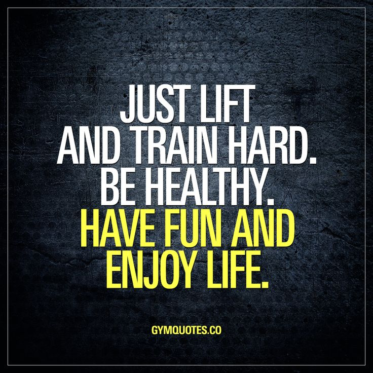 Just lift and train hard. Be healthy. Have fun and enjoy life.  It's not that complicated. You lift, you train as hard as you can, you try to be as healthy as you can and above all, make sure you have a lot of fun and enjoy life!