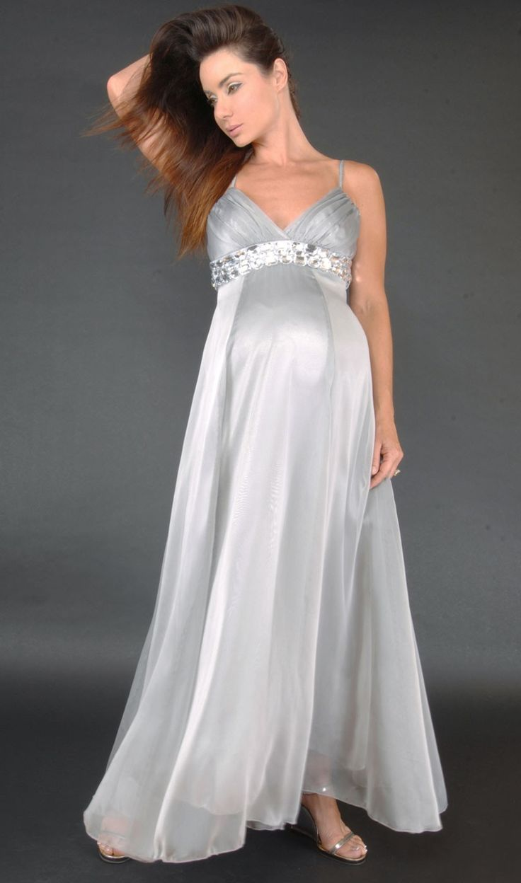 28 best images about maternity wedding dress on pinterest for Wedding dress to hide pregnancy
