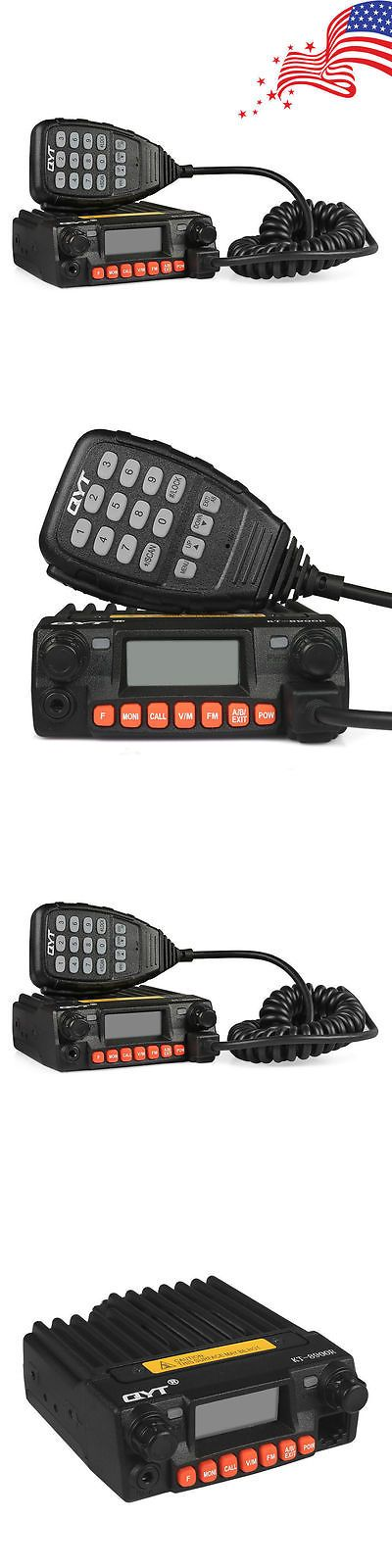 Ham Radio Transceivers: Qyt Kt-8900R Upgraded Tri-Band Car Radio 25W Mobile Vox Transceiver +Car Charger -> BUY IT NOW ONLY: $98.79 on eBay!