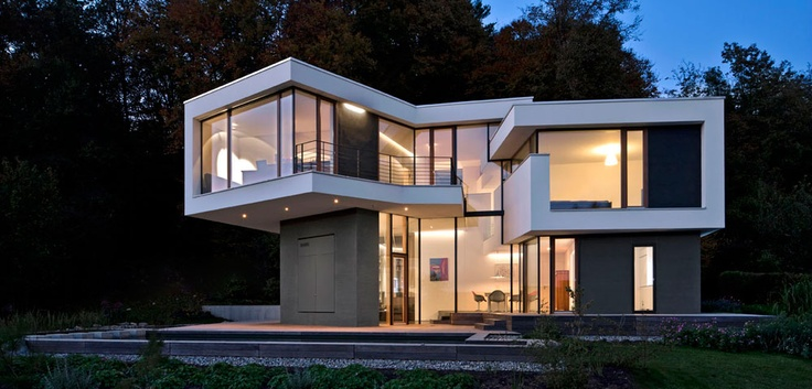 Single Family House in Ulm, Germany by Kauffmann Theilig & Partner