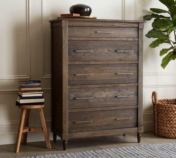 Brookdale 5 Drawer Tall Dresser Tall Dresser Decor Dresser