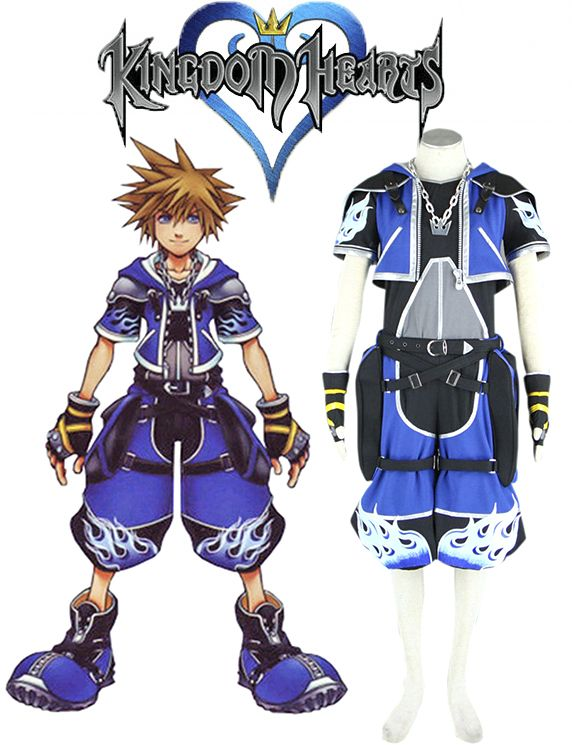 71 best Game-Kingdom Hearts Cosplay Costumes images on Pinterest ...