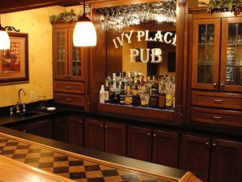 Pub Man Cave Google Search The Bar Pinterest Caves The Cabinet And B