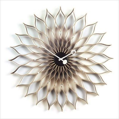 6 Retro George Nelson Clocks: Sunflower Clock