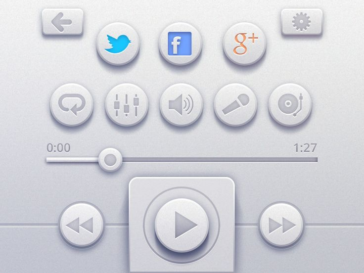 UI Controls for online player