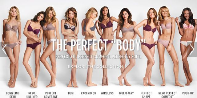 "How 10 Women Responded to Victoria's Secret's ""Perfect Body"" Campaign Real bodies, real brains."
