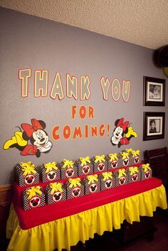 Minnie Mouse Birthday Party Ideas   Photo 1 of 63   Catch My Party