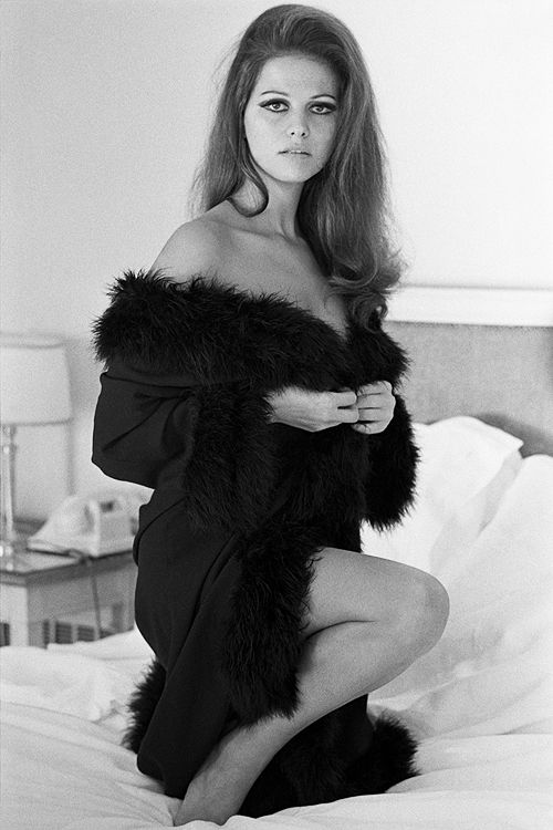a few of faves of Birthday girl Claudia Cardinale on this day her Birthday April 15th photographed by Terry O'Neill, 1963.