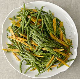 green beans and carrots in charmoula sauce steamed green beans ...