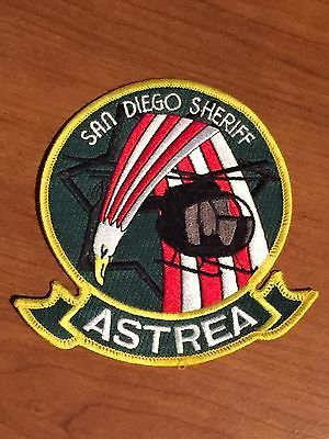 Defunct San Diego County Sheriff's Office Astrea Old Style Air Unit Patch