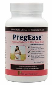 http://www.fairhavenhealth.com/pregease-morning-sickness.html# Preg-Ease for Morning Sickness Relief. $15.95