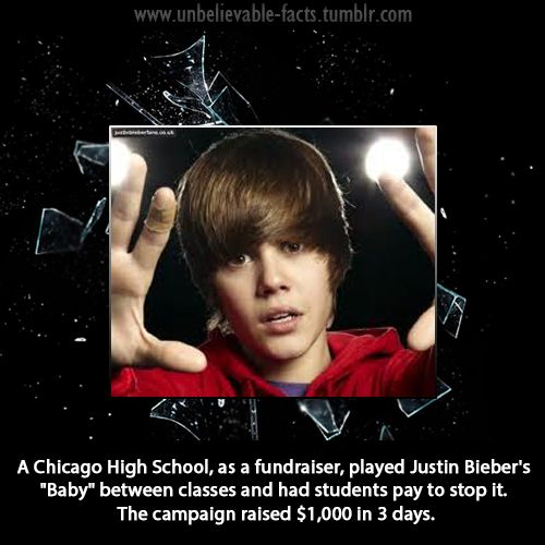 Ok... I totally don't hate Justin Bieber or anything, but this is too funny! Amazing idea! xD