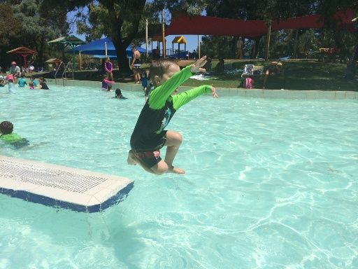 Maylands Waterland. Several shallow pools and a splash pad. Find out how far this is from your current location and get a map to take you there with the Kids Around Perth app available from Google Play or the App Store
