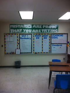 Special Teaching in the Middle- middle school math blog. Like her room setup.