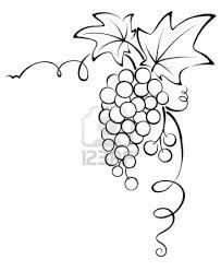 Grape Vines Clip Art And Vines On Pinterest